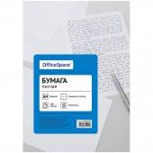 Бумага писчая OfficeSpace, А4, 100л, 55г/м2, клетка