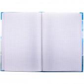 Книга учета 96 л., А4, клетка, твердый переплет 7БЦ, блок газетный