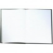 Книга учета 96 л., А4, линия, обложка тверд.бумвинил, блок офсет сшивка, ст.1