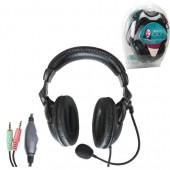 Наушники с микрофоном Defender Orpheus HN-898 (с регулятором громкости)
