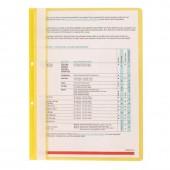 Папка-скоросшиватель Attache, А4, пластик, с перфорацией на корешке, прозрачная