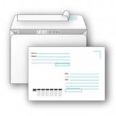 Конверт с печатью (С4, 229х324мм, отр.полоса),  250 шт/уп ст,1