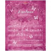 """Дневник для музыкальной школы 48л. """"Бабочки"""""""
