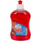 """Жидкость для мытья посуды """"Радуга"""", 500мл, пуш-пул, Малина"""