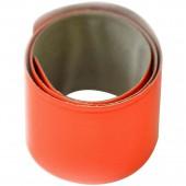 Световозвращающий Slap-браслет, оранжевый