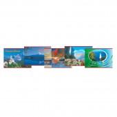 """Альбом д/рис. 40л. """"Хатбер"""" (VK), обл.офсет, 100г/м, Ландшафты Европы (5 видов), 40А4С(A69899)"""