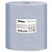 Полотенца бумажные протирочные Veiro 2сл.1000л*2рул/уп,синий W202