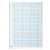 "Бумага масштабно-координатная ""Хатбер"", А4, 210*295мм, голубая, на скобе, 16л., 16Бм4_02284(N002704)"