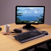 Коврик на стол  48x61см, Floortex, толщ.0,9мм, прозрачн, 232023