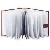 Фотоальбом 200 фото 10х15 см Brauberg бум. стр., классический, обложка под кожу,на застеж,390479