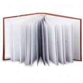 Фотоальбом 200 фото 10х15 см Brauberg бум. стр., классический, обложка под кожу, коричн, 390483