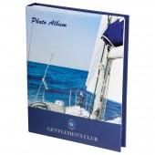 Фотоальбом 10х15 см, Brauberg твердая обложка, вид с яхты, 390664