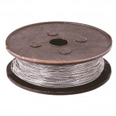 Пломбировочная проволока двужильная, нержавеющая, диаметр 0,65 мм, длина 100м, ш/к 57354