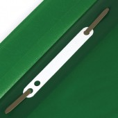 Скоросшиватель пластиковый Staff эконом, зеленый, 225728