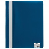 Скоросшиватель пластиковый Staff , синий, 225730