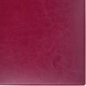 "Ежедневник н/дат. Brauberg А6 100*150мм ""Imperial"", под гл.кожу, 160л., бордовый, крем.блок,123466"
