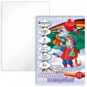 Картон белый, А3,  8л., 297*420мм Brauberg (детская серия) Мелованный, В лесу, 124763