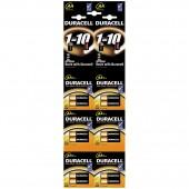 Элементы питания батарейка Duracell AA/316/LR6, алкалиновые, 2шт/уп, отрывной набор, ст.20