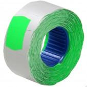 Этикет-лента 26х16, волна, зеленая, ст.1 х
