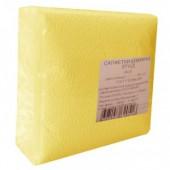 Салфетки 1-сл.24х24 Пастель желтые 75шт/уп.