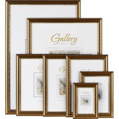 Рамка для фотографий пластиковая Gallery Версаль 20x30 см золотистая