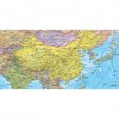 Карта мира политич.(240х160см)1:17млн, отвес
