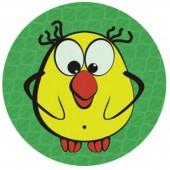 """Значок светоотражающий """"Желтая птичка"""" 50 мм, ш/к 42427"""