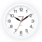 Часы Troyka 21210213 настенные круглые белые, ст.1