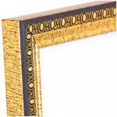 Рамка для сертификатов OfficeSpace 21*30см, пластиковый багет, золото, ст. 5