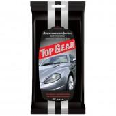 Салфетки Top Gear влажные д/для стекла, 30 шт/упак