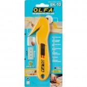 """Нож OLFA""""Hobby Craft Models"""" OL-SK-10 для хоз работ,безопасный,для вскрытия стрейч-пленки,пластиковых шинок и коробок,17,8мм"""