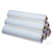 Стрейч-пленка для ручной упаковки вес 2 кг 20 мкм x 50 см x220 м престрейч 180%, 6шт/уп