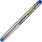 Ручка перьевая Pilot SVP-4M V-Pen серый корпус синяя