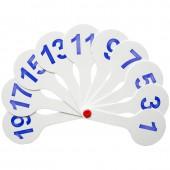 Веер-касса цифр от 1 до 20, ArtSpace