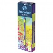 """Ручка капиллярная Schneider """"Line-Up"""" синяя, 0,4мм"""