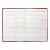 Книга учета 96 л., А4, 200х290 мм, Brauberg, линия, бумвинил, блок офсет, 130070/КУ-522