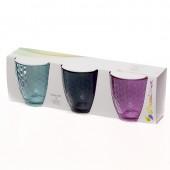Набор стаканов Pasabahce Энжой Лофт стеклянные низкие 280 мл 3 штук в упаковке (артикул производителя 96586BD)