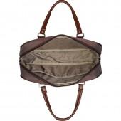 Папка-сумка Polar из полиэстера коричневого цвета (7064)