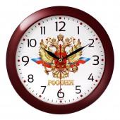 Часы настенные Troyka 11131176 вишневые